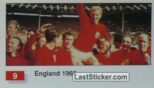 England (Winner Team Photo WC-1966) (History of the World Cup)
