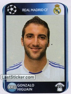 Gonzalo Higuain (Real Madrid SF)