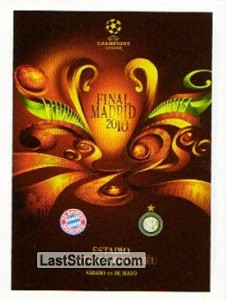 Poster Final Madrid 2010 (Legends)