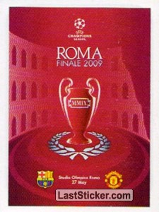 Poster Roma Finale 2009 (Legends)