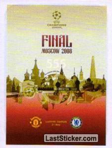 Poster Final Moscow 2008 (Legends)