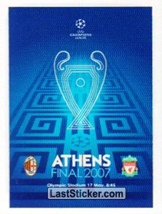 Poster Athens Final 2007 (Legends)
