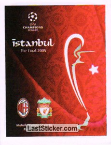 Poster Istanbul The Final 2005 (Legends)