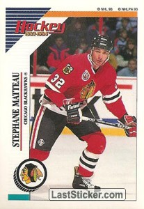 Stephane Matteau (Chicago Blackhawks)