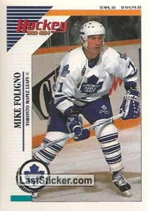 Mike Foligno (Toronto Maple Leafs)