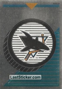 San Jose Sharks team logo - Foil (San Jose Sharks)