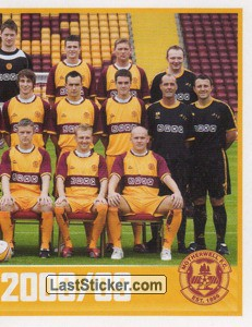 Motherwell Squad - Part 2 (Motherwell)