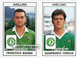 Francesco Baiano / Gianfranco Cinello (Avellino - Serie B)