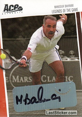 Mansour Bahrami (Legends of the Game)
