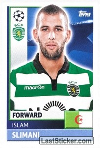 Islam Slimani (Sporting Club De Portugal)