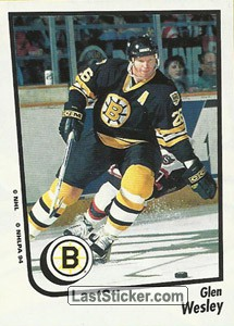 Glen Wesley (Boston Bruins)