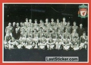1984-85 Team Photo (Liverpool Domestic Honours)