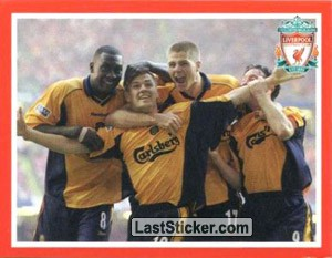 Michael Owen (Liverpool Domestic Honours)