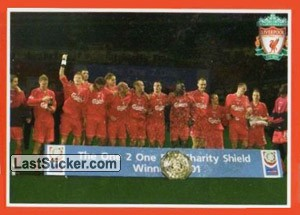 2001-02 F.A. Charity Shield (Liverpool Domestic Honours)