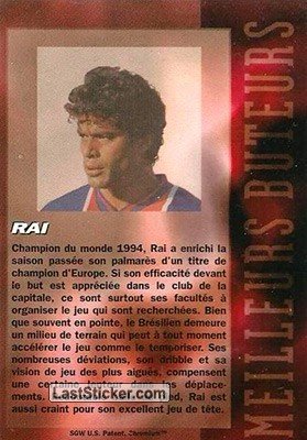Rai (Paris Sainte Germain) - Back