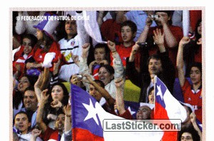 Chile fans (1 of 3) (Chile)