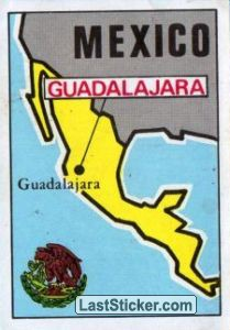 Map of Mexico (Mexico)