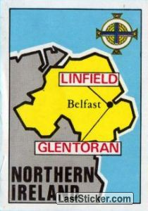 Map of Northern Ireland (Northern Ireland)