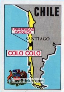 Map of Chile (Chile)