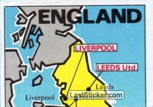 Map of England (puzzle 1) (England)