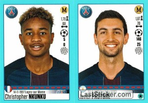 Christopher Nkunku - Javier Pastore (Paris)