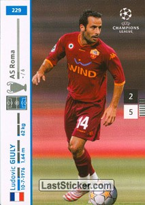 Ludovic Giuly (A.S. Roma)