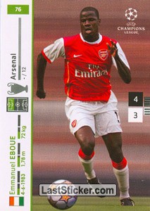 Emmanuel Eboue (Arsenal)