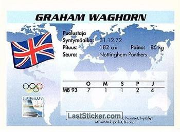 Graham Waghorn (Team Great Britain) - Back