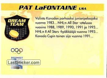 Pat LaFontaine (Team USA) - Back