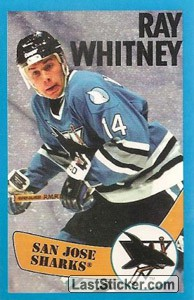 Ray Whitney (San Jose Sharks)