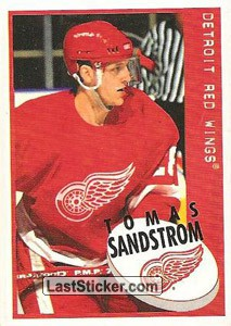 Tomas Sandstrom (Detroit Red Wings)