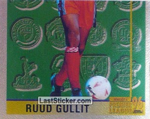 Ruud Gullit (Leading Player 2/2) (Chelsea)