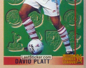 David Platt (Leading Player 2/2) (Arsenal)