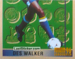Des Walker (Leading Player 2/2) (Sheffield Wednesday)