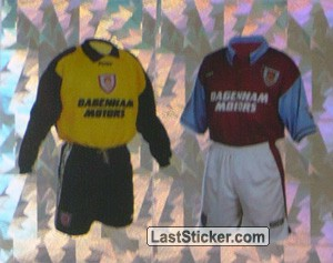 Home Kits (West Ham United)