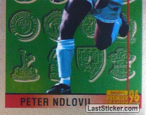 Peter Ndlovu (Leading Player 2/2) (Coventry City)