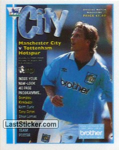 Club Programme (Manchester City)