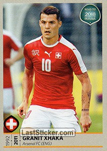 Granit Xhaka (Switzerland)