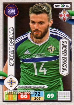 Stuart Dallas (Northern Ireland)