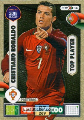 Por15 Where To Buy >> Card POR14: Cristiano Ronaldo - Panini Road to 2018 FIFA World Cup Russia. Adrenalyn XL ...