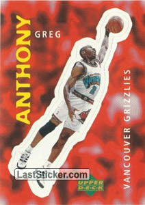 Greg Anthony (Vancouver Grizzlies)