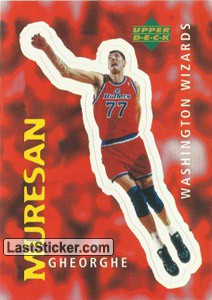Gheorghe Muresan (Washington Wizards)