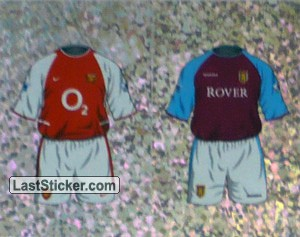 Home Kit Arsenal/Aston Villa (a/b) (The Kits)