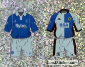 Home Kit Birmingham City/Blackburn Rovers (a/b) (The Kits)