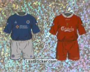 Home Kit Leicester City/Liverpool (a/b) (The Kits)