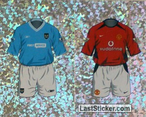 Home Kit Manchester City/Manchester United (a/b) (The Kits)