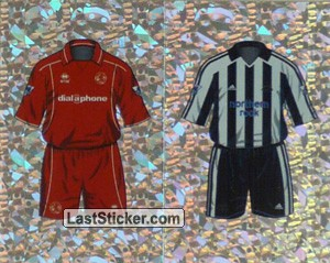 Home Kit Middlesbrough/Newcastle United (a/b) (The Kits)