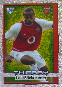 Thierry Henry (Star Striker) (Arsenal)