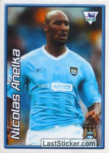 Nicolas Anelka (Manchester City) (Derby Days Poster)