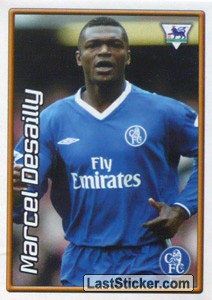 Marcel Desailly (Chelsea) (Derby Days Poster)